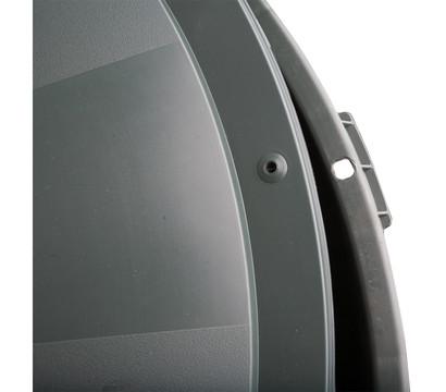 kunststoff regentonne mit deckel rund dunkelgr n. Black Bedroom Furniture Sets. Home Design Ideas