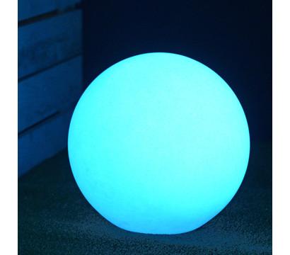 Kunststoff-Ball Sirio fluoreszierend, weiß