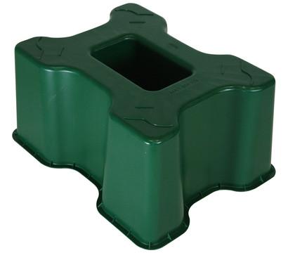 Kunststoff-Sockel für Regentonne 200/300 l, dunkelgrün