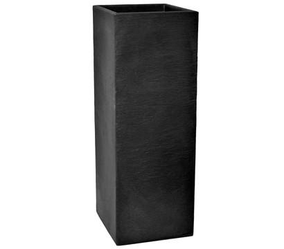 Kunststoff-Säulentopf Kubus, anthrazit