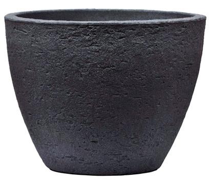 Kunststoff-Topf Stone, konisch, anthrazit