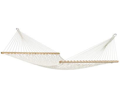 La Siesta Netz-Stabhängematte Kingsize Virginia, 370 x 140 cm, écru