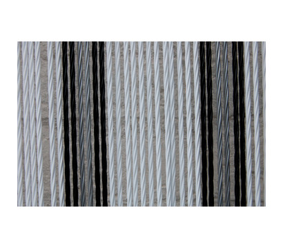 La Tenda Türvorhang Ostuni 1, weiß/schwarz/grau