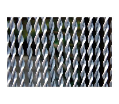 La Tenda Türvorhang Riva 2, weiß/grau