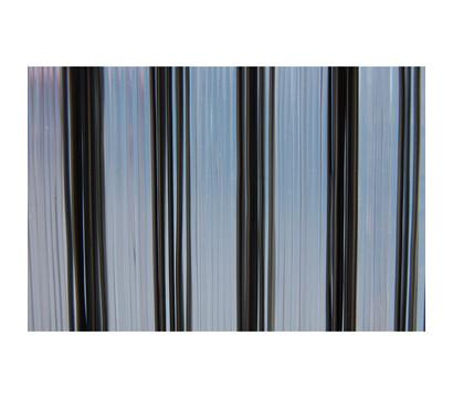 La Tenda Türvorhang Trento 1, grau/transparent