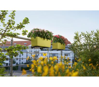 lechuza balconera color 50 rechteckig pistaziengr n. Black Bedroom Furniture Sets. Home Design Ideas