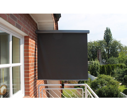 leco balkonmarkise anthrazit dehner garten center. Black Bedroom Furniture Sets. Home Design Ideas