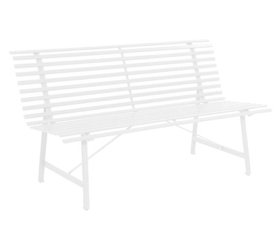 Leco Stahl-Gartenbank, 3-Sitzer