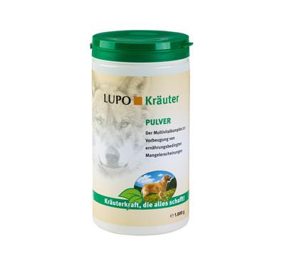 LUPOSAN Ergänzungsfutter LUPO Kräuter Pulver