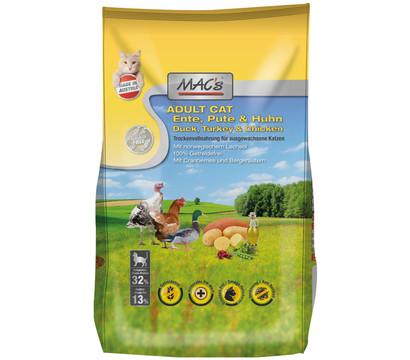 MAC's Cat Adult Ente, Pute & Huhn, Trockenfutter