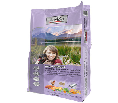 MAC's Dog Adult Mini Trockenfutter, 3 kg