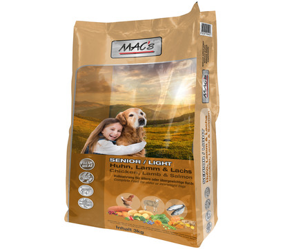 MAC's Dog Senior Light Trockenfutter
