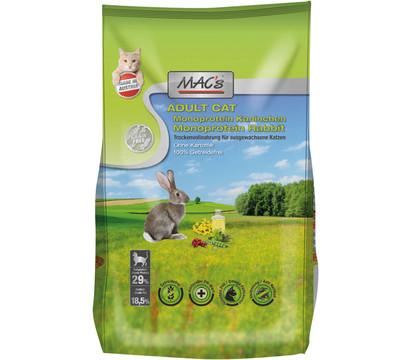 MAC's Trockenfutter Monoprotein Kaninchen Cat Adult
