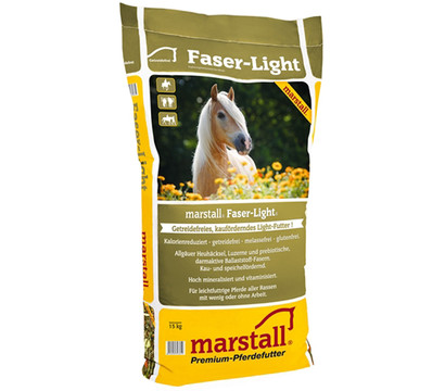 marstall Pferdefutter Faser-Light getreidefrei, 15 kg