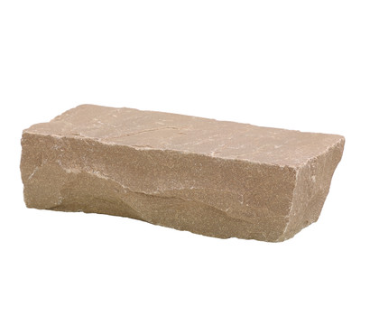 Mauerstein aus Sandstein, 20 x 10 x 6 cm