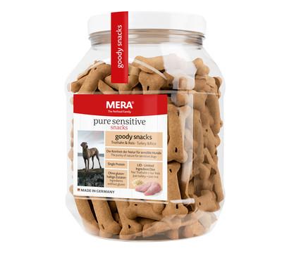 Mera Hundesnack Pure Sensitive Goody, Truthahn & Kartoffel, 600g