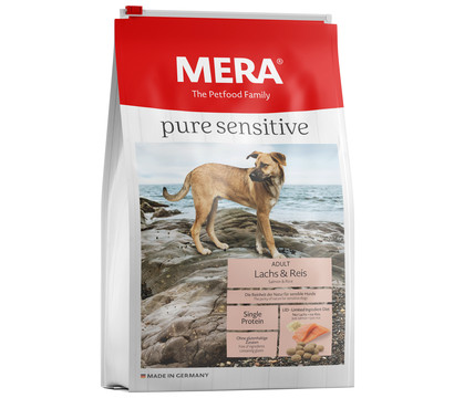 MERA® Trockenfutter Pure Sensitive Adult, Lachs & Reis