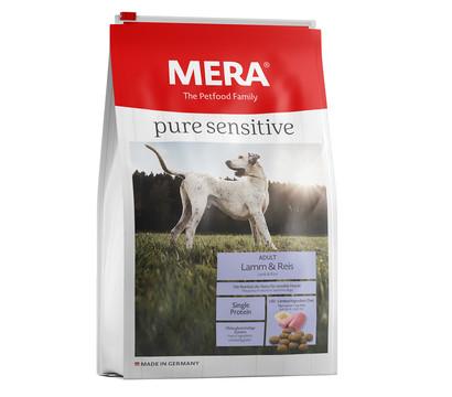 MERA® Trockenfutter pure sensitive Adult, Lamm & Reis