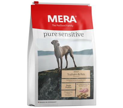 MERA® Trockenfutter pure sensitive Adult, Truthahn & Reis