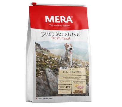 MERA® Trockenfutter pure sensitive fresh meat Mini, Huhn & Kartoffel