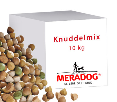 Meradog Knuddelmix, Hundesnack, 10kg