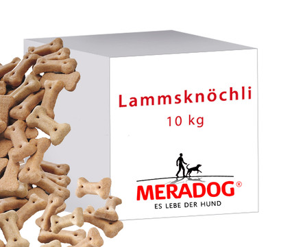 Meradog Lammsknöchli Hundesnack, 10kg