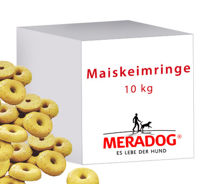 Meradog Maiskeimringe, Hundesnack, 10kg