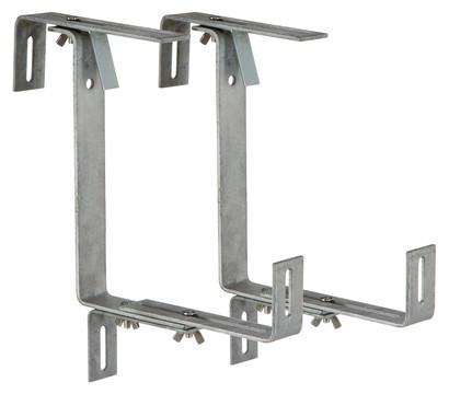metall blumenkastenhalter profi f r den balkon 2 st ck. Black Bedroom Furniture Sets. Home Design Ideas