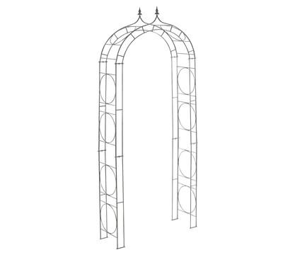 metall rosenbogen circle creme. Black Bedroom Furniture Sets. Home Design Ideas