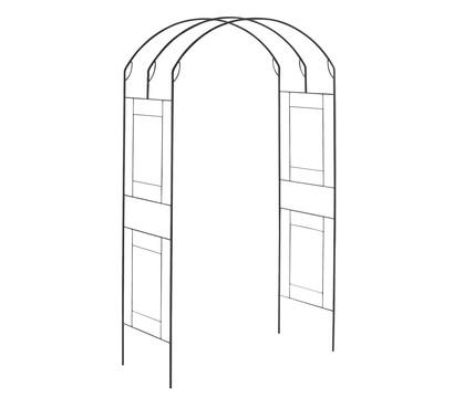 metall rosenbogen square schwarz. Black Bedroom Furniture Sets. Home Design Ideas