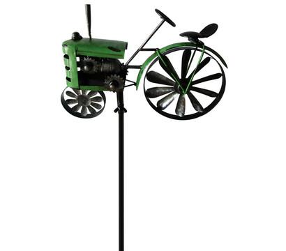 Metallstecker Traktor