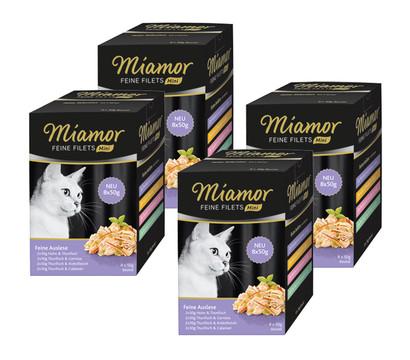 Miamor Katzensnack Feine Filets Mini Feine Auslese Multipack, 32 x 50g