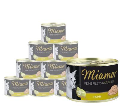 Miamor Katzensnack Feine Filets naturelle, 12 x 156g