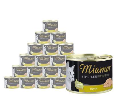 Miamor Katzensnack Feine Filets naturelle, 24 x 80g