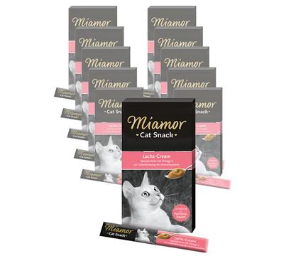 Miamor Katzensnack Lachs-Cream, 11 x 6 x 15g