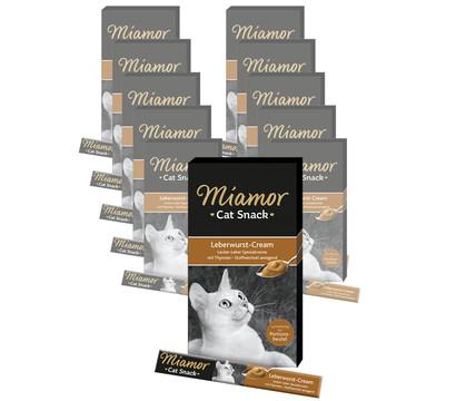 Miamor Katzensnack Leberwurst-Cream, 11 x 6 x 15g