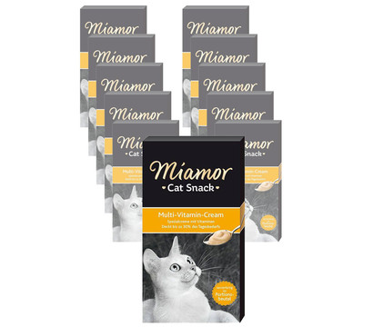 Miamor Katzensnack Multi-Vitamin-Cream, 11 x 6 x 15g