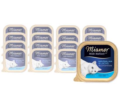 Miamor milde Mahlzeit, Nassfutter, 16 x 100 g