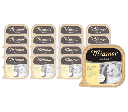 Miamor Sensibel Nassfutter, 16 x 100 g