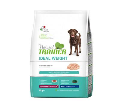 Natural TRAINER Trockenfutter Weight Care Medium & Maxi Adult