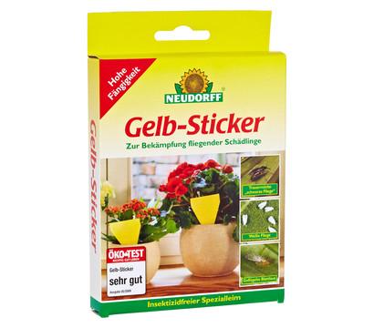 Neudorff gelb sticker zur sch dlingsbek mpfung 10 stk for Gelbsticker gegen fliegen