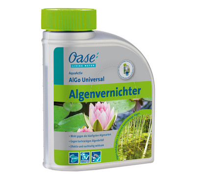 oase algenvernichter aquaactiv algo universal 500 ml. Black Bedroom Furniture Sets. Home Design Ideas