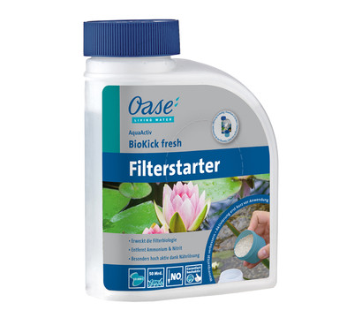 Oase Filterstarter AquaActiv BioKick fresh, 500 ml