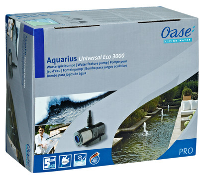oase teichpumpe aquarius universal eco 3000 dehner garten center. Black Bedroom Furniture Sets. Home Design Ideas