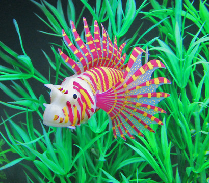 Orbit Silikon-Fisch, Aquariumdeko