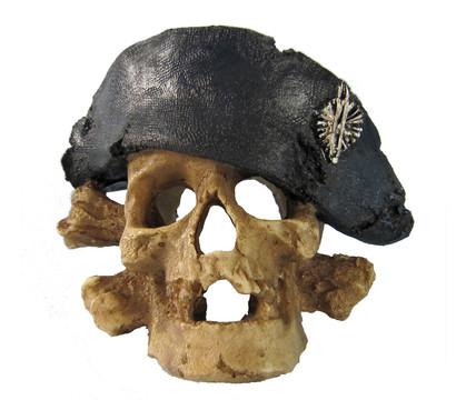 Orbit Totenkopf Aquariumdeko