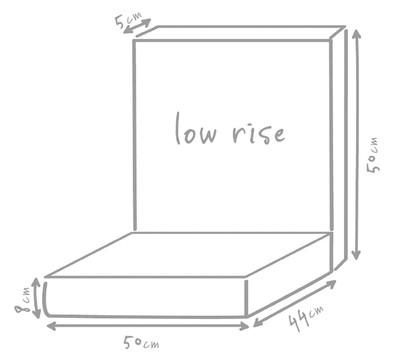 outbag niederlehner auflage low rise plus dehner garten. Black Bedroom Furniture Sets. Home Design Ideas