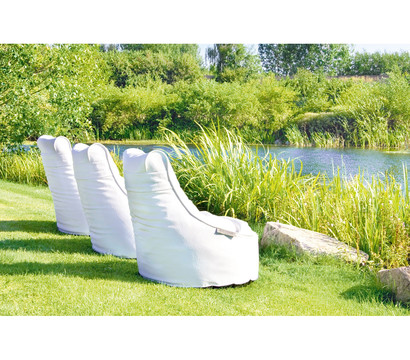 outbag outdoor sitzsack slope deluxe white dehner garten center. Black Bedroom Furniture Sets. Home Design Ideas