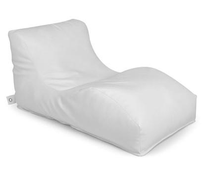 Outbag Outdoor-Sitzsack Wave Deluxe, light white