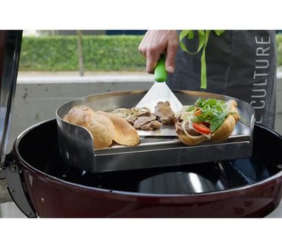 outdoorchef plancha grillplatte 2 teilig dehner garten center. Black Bedroom Furniture Sets. Home Design Ideas